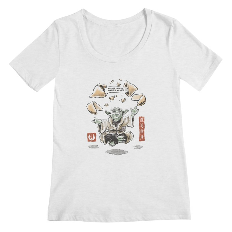 Forced Fortune Women's Regular Scoop Neck by CPdesign's Artist Shop