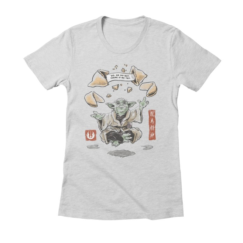 Forced Fortune Women's Fitted T-Shirt by CPdesign's Artist Shop