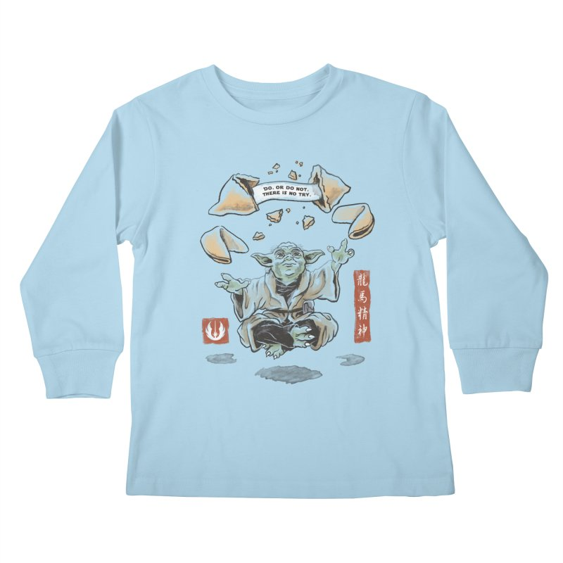 Forced Fortune Kids Longsleeve T-Shirt by CPdesign's Artist Shop