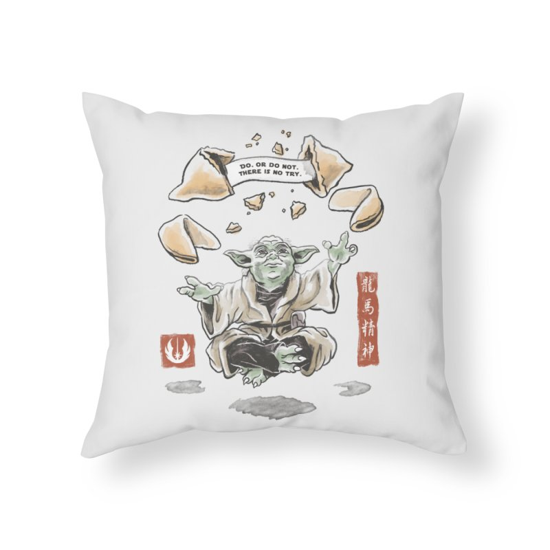 Forced Fortune Home Throw Pillow by CPdesign's Artist Shop