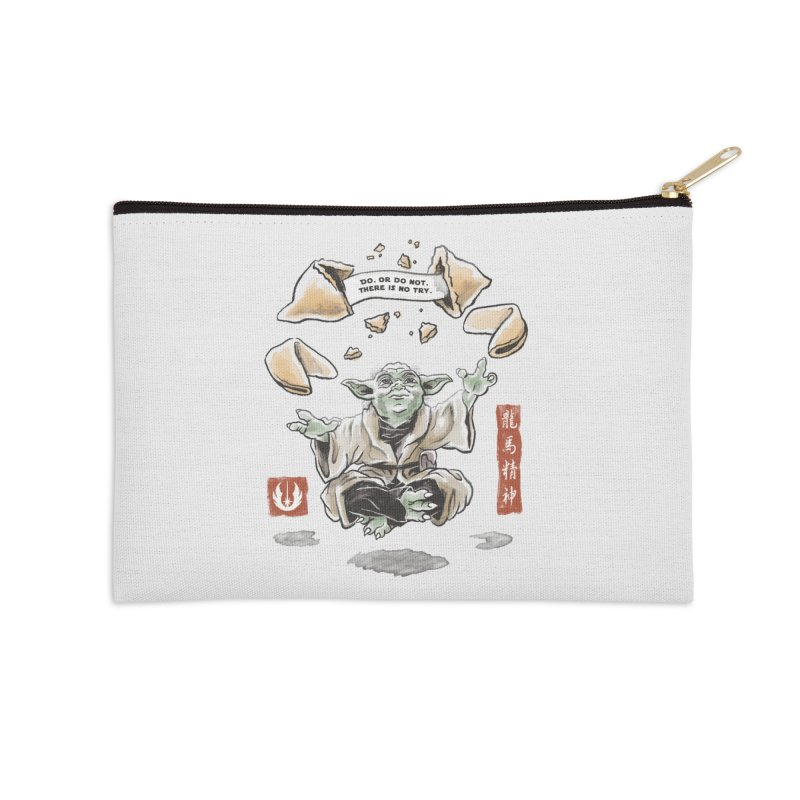 Forced Fortune Accessories Zip Pouch by CPdesign's Artist Shop