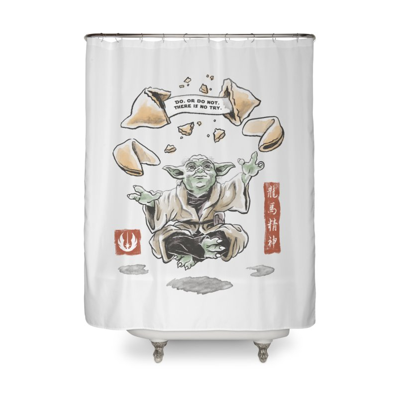 Forced Fortune Home Shower Curtain by CPdesign's Artist Shop