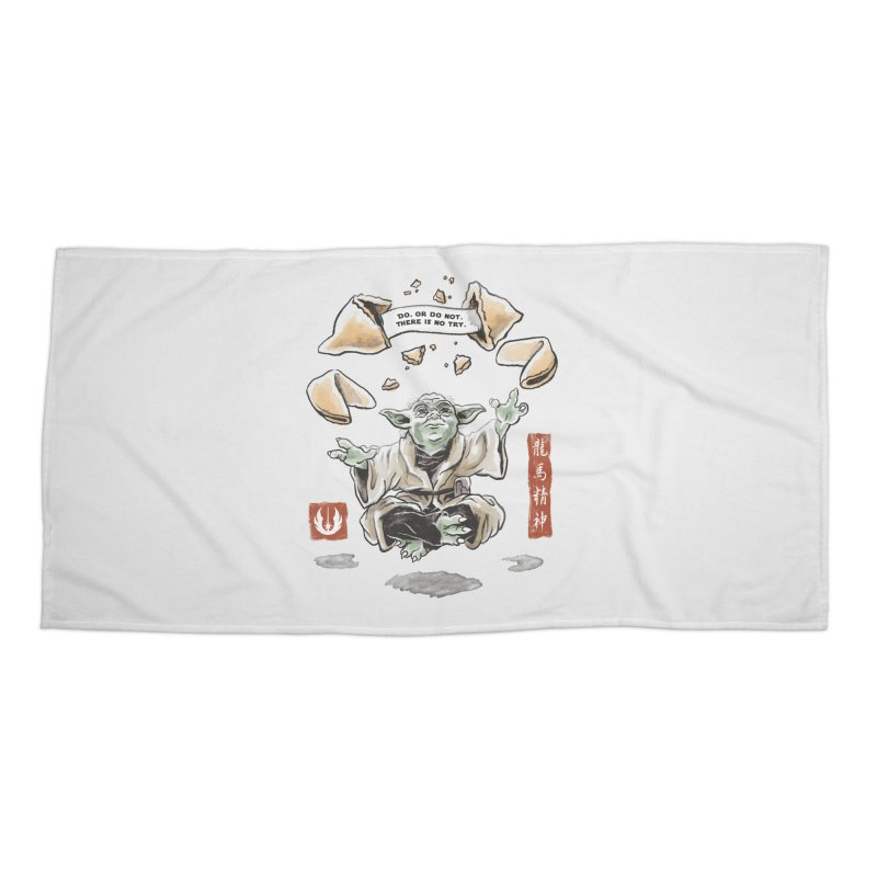 Forced Fortune Accessories Beach Towel by CPdesign's Artist Shop