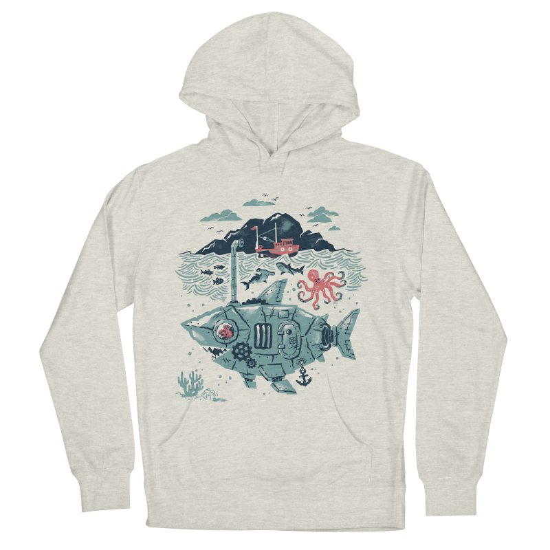 Crabby's Revenge Women's French Terry Pullover Hoody by CPdesign's Artist Shop
