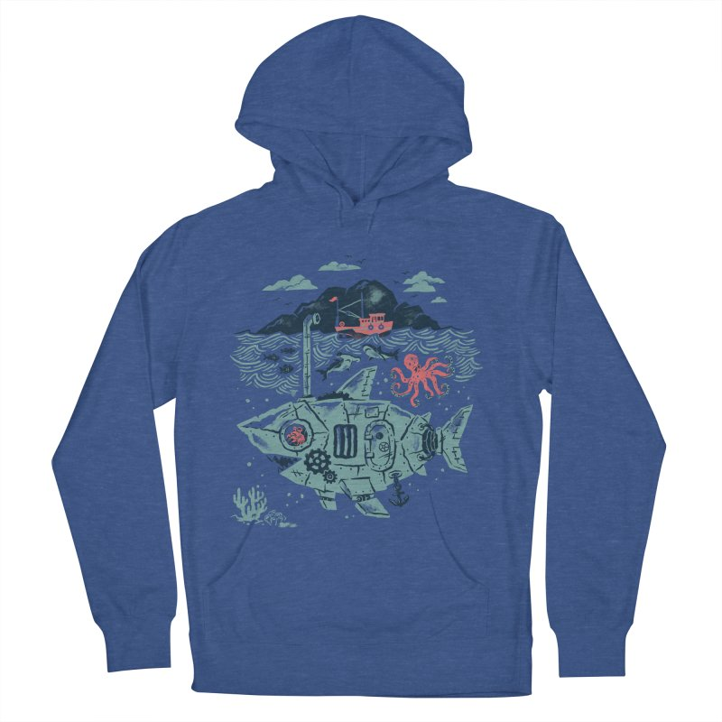 Crabby's Revenge Men's Pullover Hoody by CPdesign's Artist Shop
