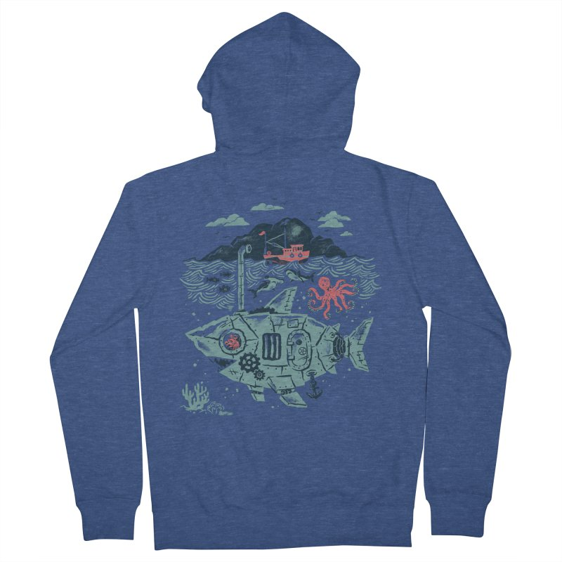 Crabby's Revenge Women's Zip-Up Hoody by CPdesign's Artist Shop