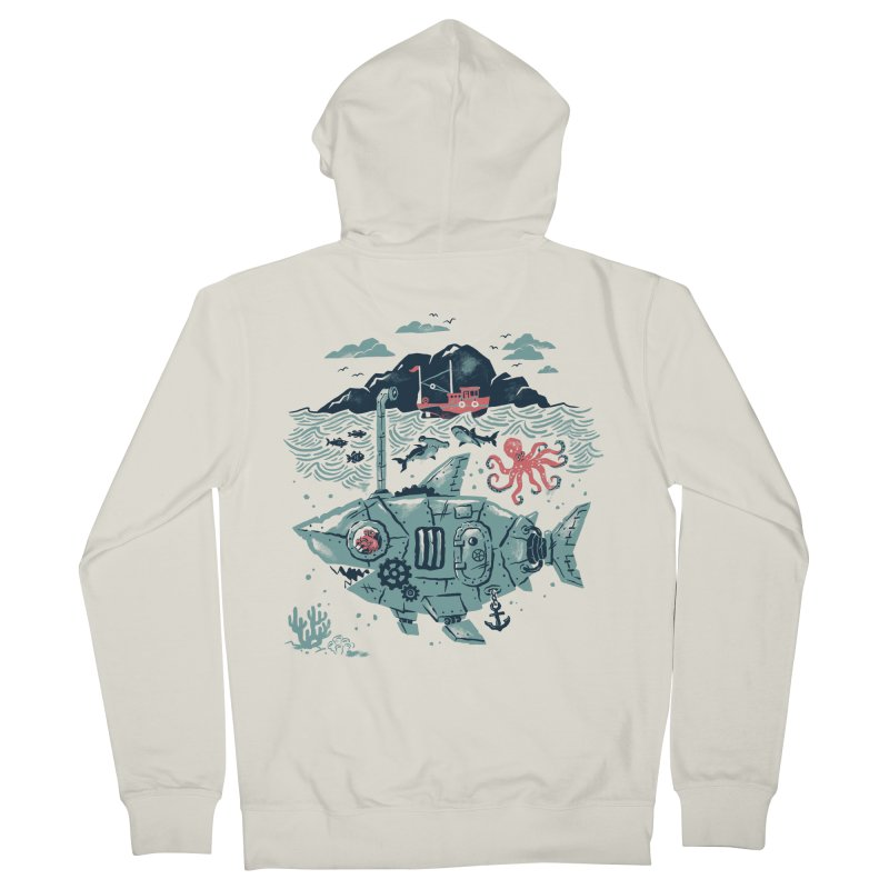 Crabby's Revenge Women's French Terry Zip-Up Hoody by CPdesign's Artist Shop