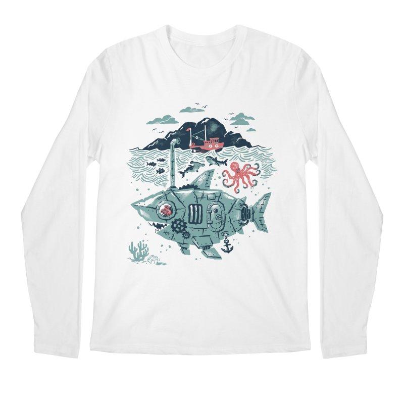 Crabby's Revenge Men's Longsleeve T-Shirt by CPdesign's Artist Shop