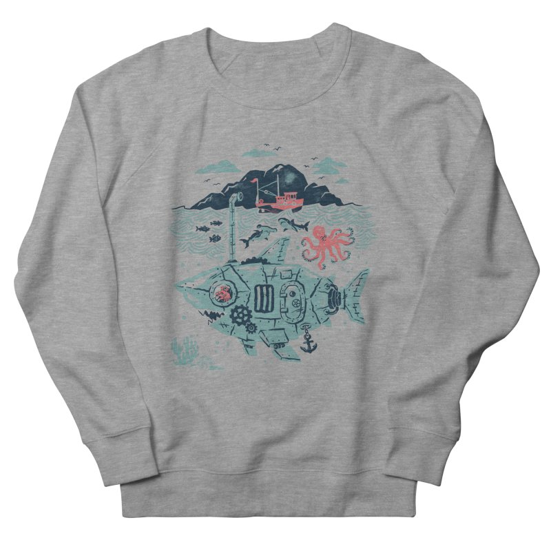 Crabby's Revenge Women's French Terry Sweatshirt by CPdesign's Artist Shop