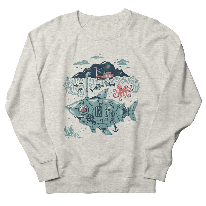 Crabby's Revenge Men's Sweatshirt by CPdesign's Artist Shop