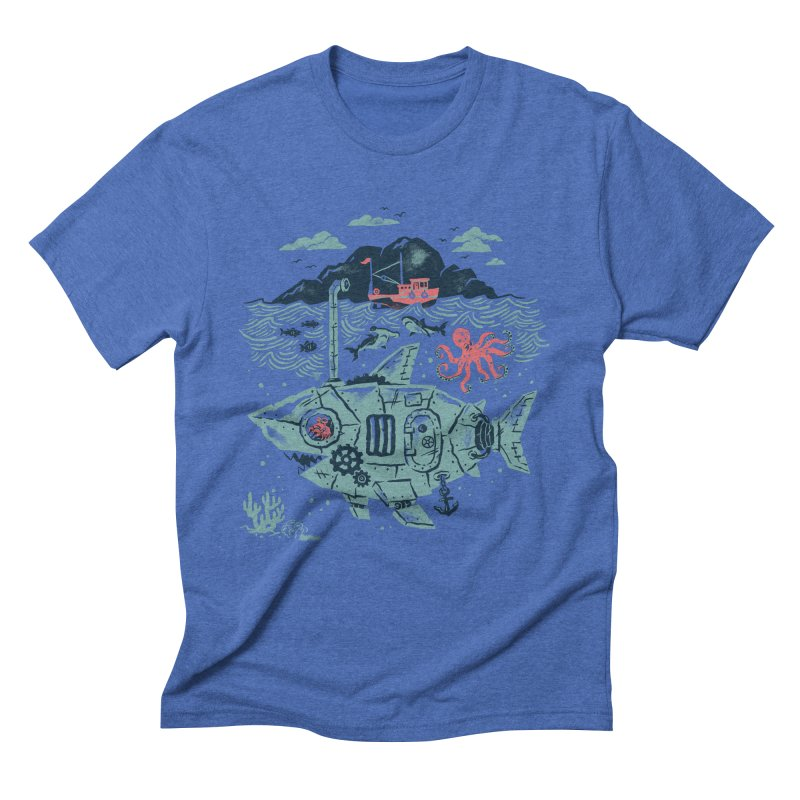 Crabby's Revenge Men's Triblend T-shirt by CPdesign's Artist Shop