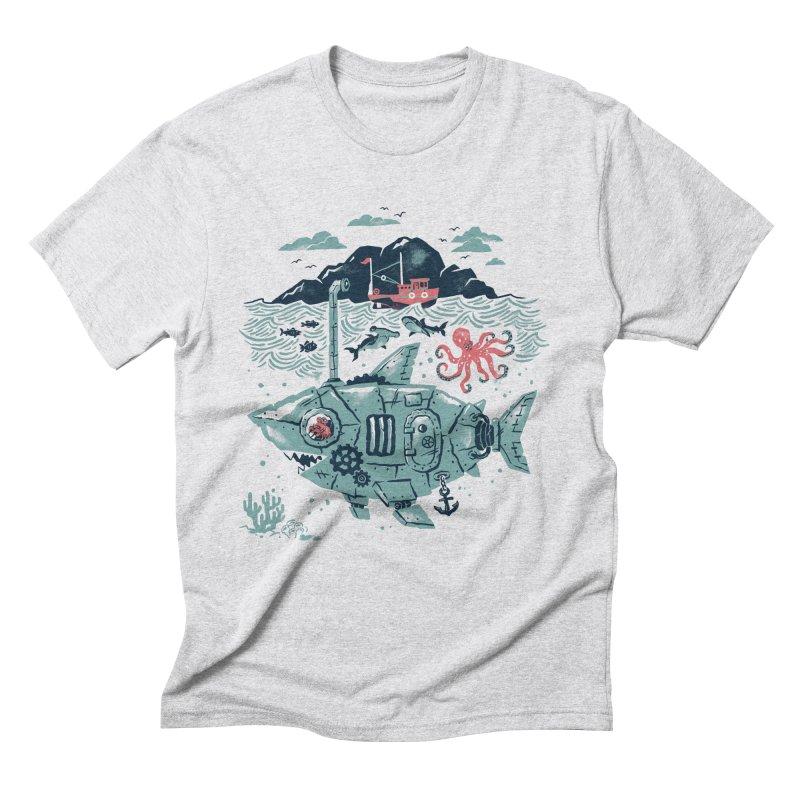 Crabby's Revenge Men's Triblend T-Shirt by CPdesign's Artist Shop