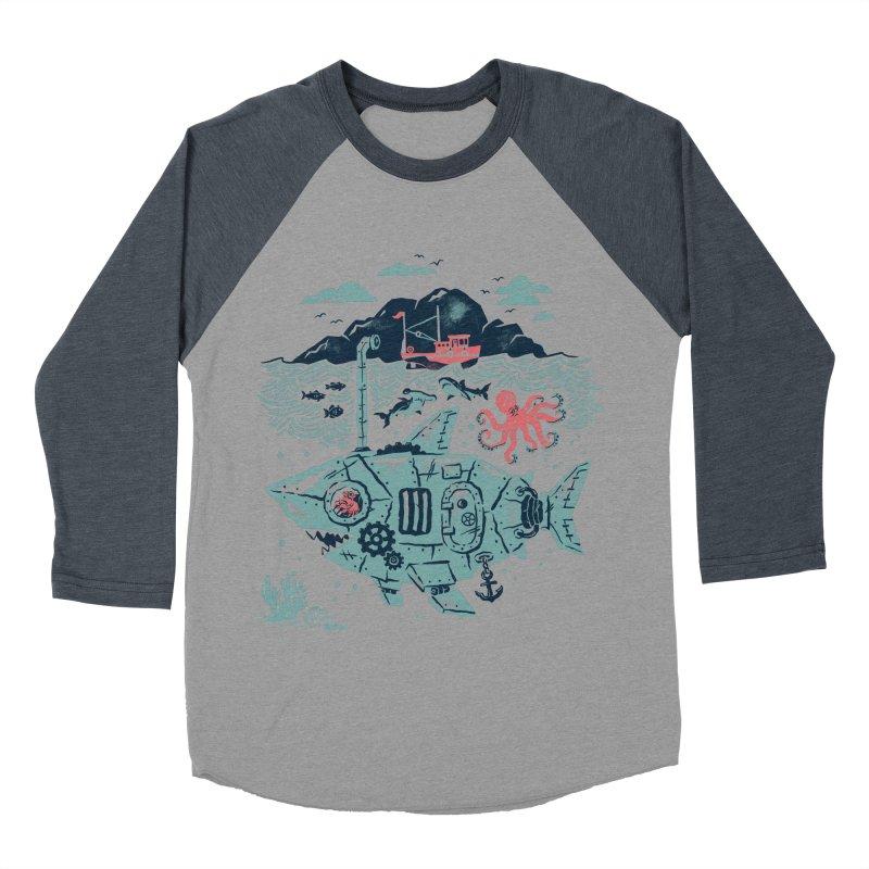 Crabby's Revenge Women's Baseball Triblend T-Shirt by CPdesign's Artist Shop