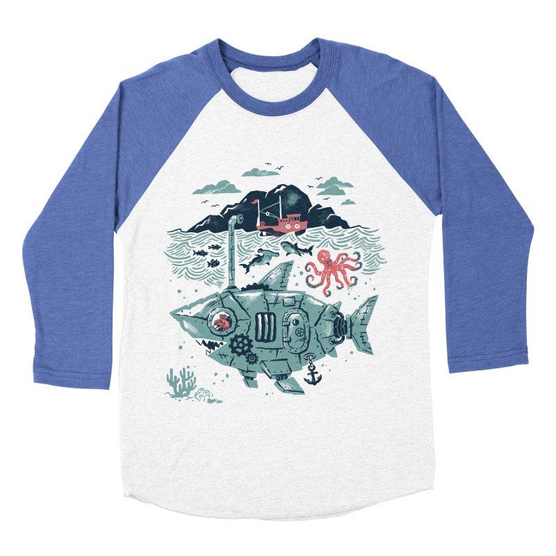 Crabby's Revenge Men's Baseball Triblend T-Shirt by CPdesign's Artist Shop
