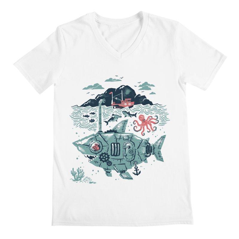 Crabby's Revenge Men's V-Neck by CPdesign's Artist Shop