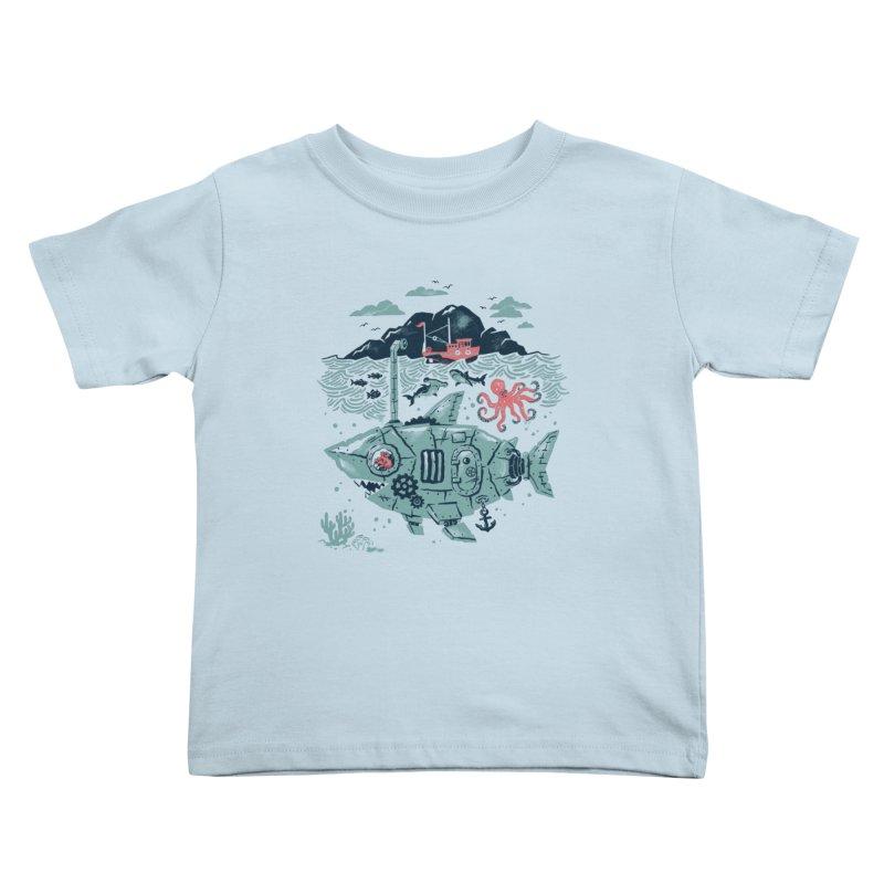 Crabby's Revenge Kids Toddler T-Shirt by CPdesign's Artist Shop