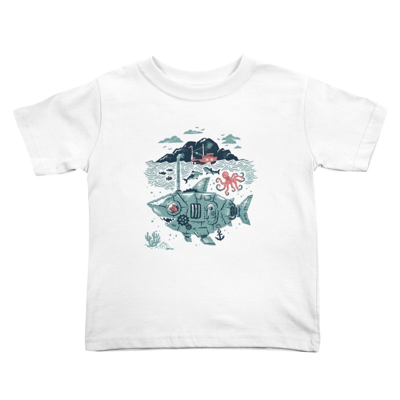 Crabby's Revenge Kids Toddler T-Shirt by CPdesign's Artist Shop