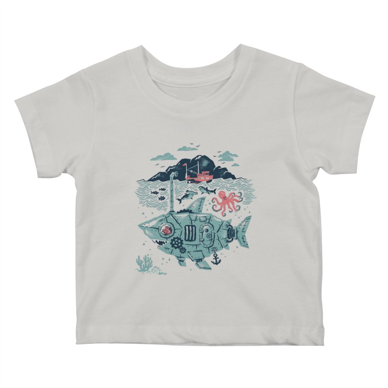 Crabby's Revenge Kids Baby T-Shirt by CPdesign's Artist Shop