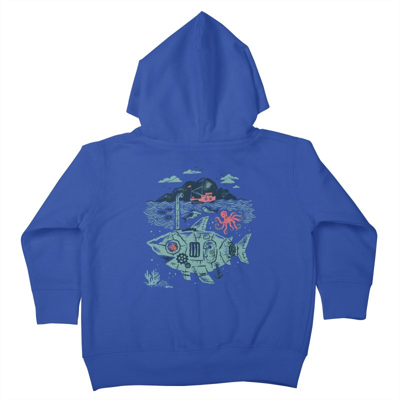 Crabby's Revenge Kids Toddler Zip-Up Hoody by CPdesign's Artist Shop