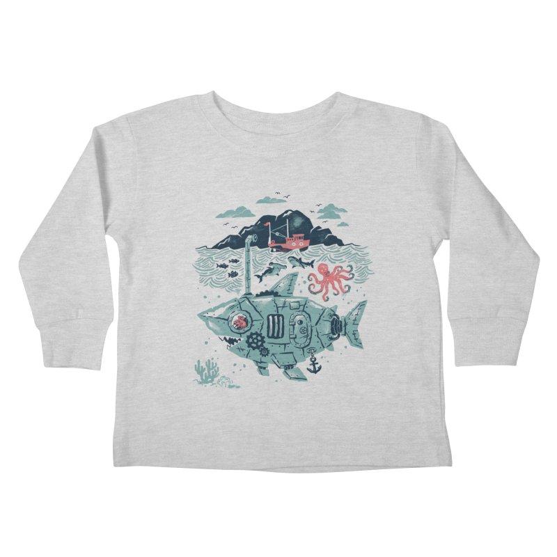 Crabby's Revenge Kids Toddler Longsleeve T-Shirt by CPdesign's Artist Shop