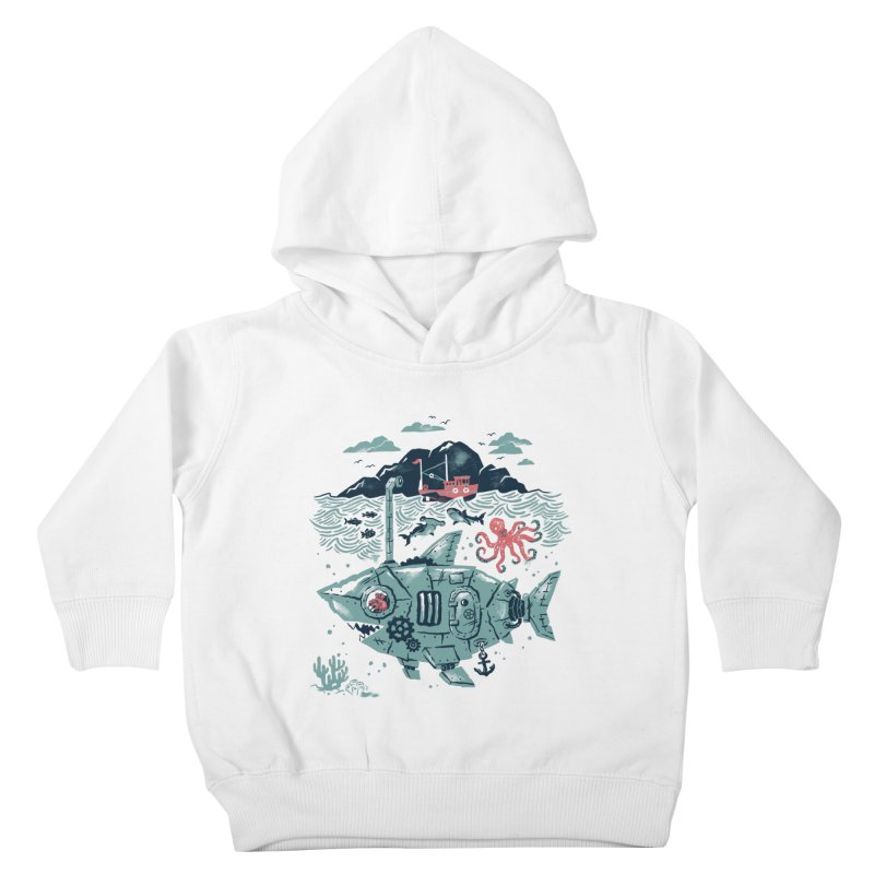 Crabby's Revenge Kids Toddler Pullover Hoody by CPdesign's Artist Shop