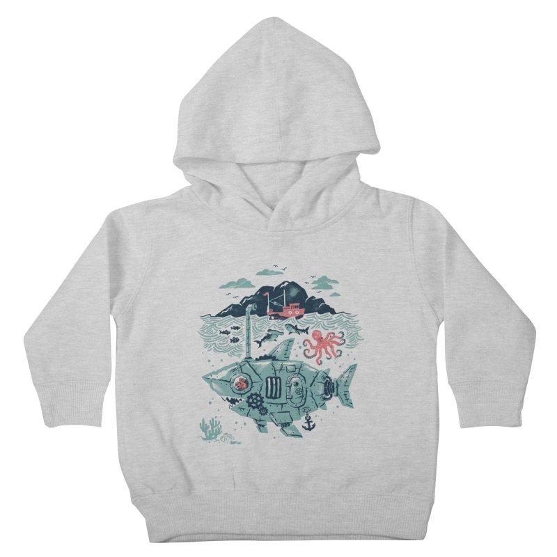 Crabby's Revenge Kids Toddler Pullover Hoody by CPdesign's Artist Shop