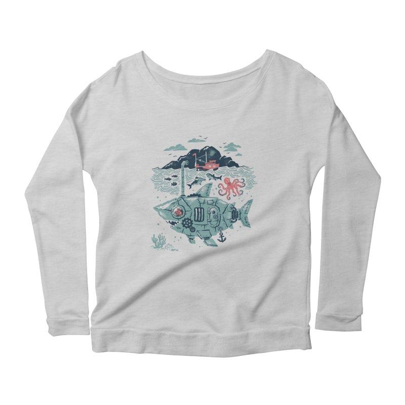 Crabby's Revenge Women's Scoop Neck Longsleeve T-Shirt by CPdesign's Artist Shop