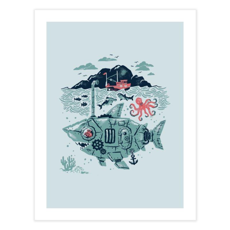 Crabby's Revenge Home Fine Art Print by CPdesign's Artist Shop