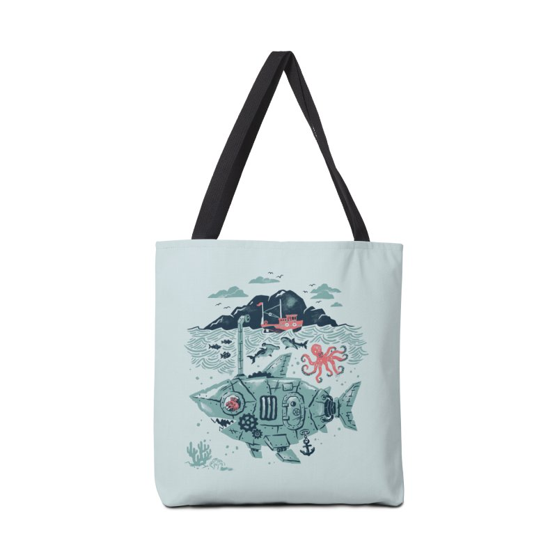 Crabby's Revenge Accessories Tote Bag Bag by CPdesign's Artist Shop