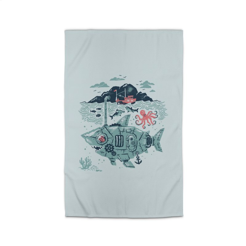 Crabby's Revenge Home Rug by CPdesign's Artist Shop