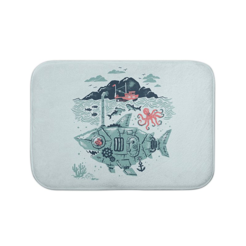 Crabby's Revenge Home Bath Mat by CPdesign's Artist Shop