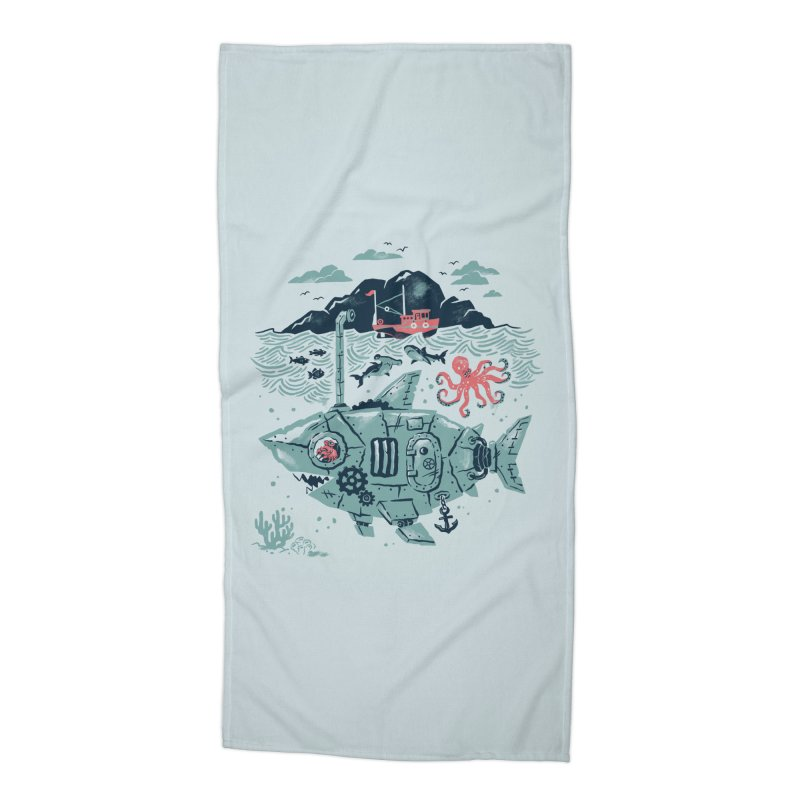 Crabby's Revenge Accessories Beach Towel by CPdesign's Artist Shop