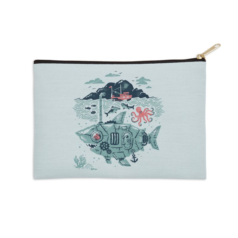 Crabby's Revenge Accessories Zip Pouch by CPdesign's Artist Shop