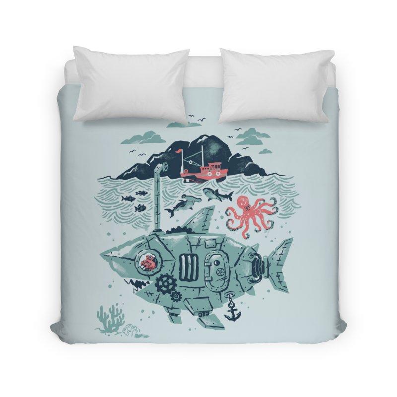 Crabby's Revenge Home Duvet by CPdesign's Artist Shop
