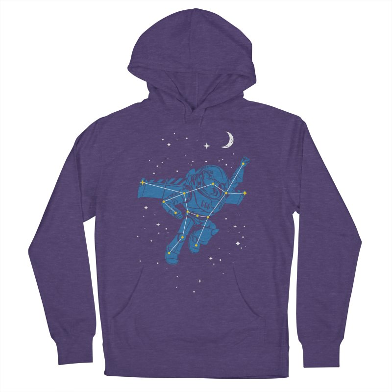 Universal Star Women's French Terry Pullover Hoody by CPdesign's Artist Shop