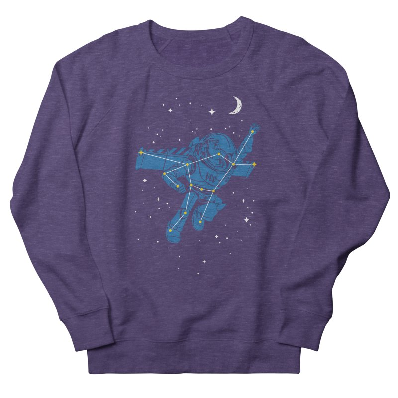 Universal Star Women's French Terry Sweatshirt by CPdesign's Artist Shop