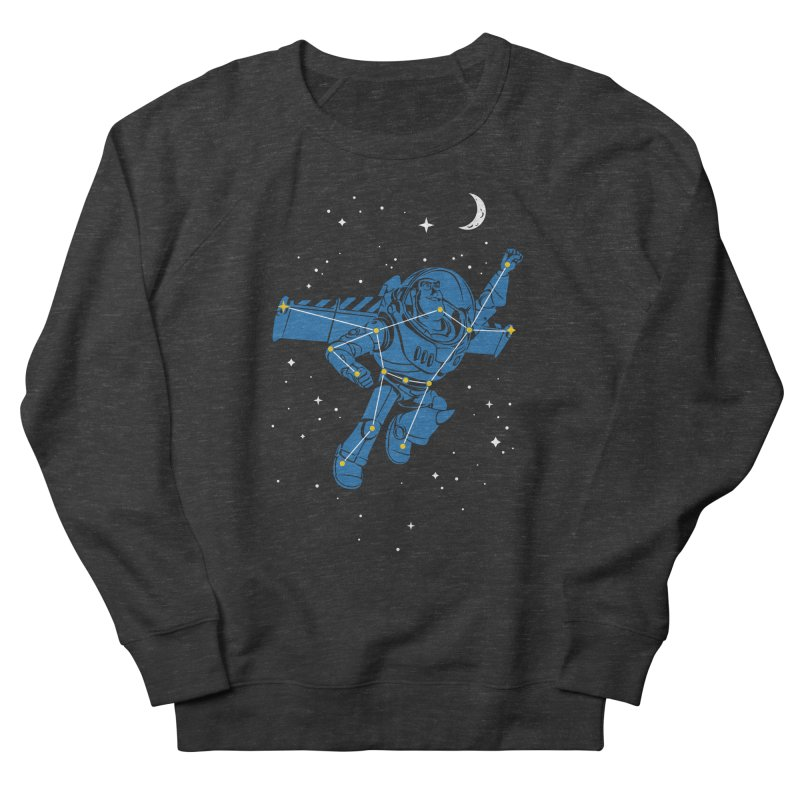 Universal Star Men's French Terry Sweatshirt by CPdesign's Artist Shop