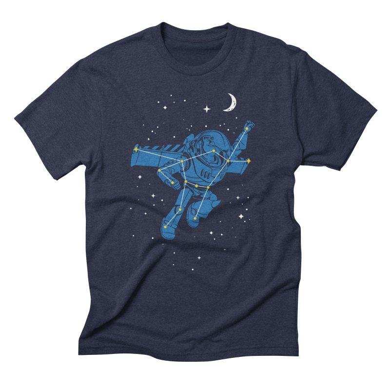 Universal Star Men's Triblend T-shirt by CPdesign's Artist Shop