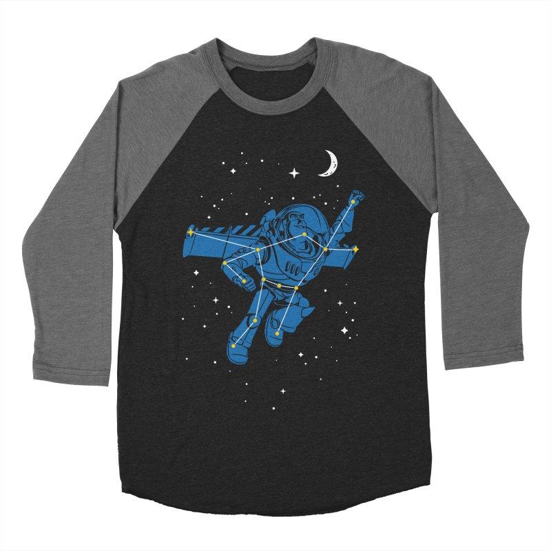 Universal Star Men's Baseball Triblend T-Shirt by CPdesign's Artist Shop