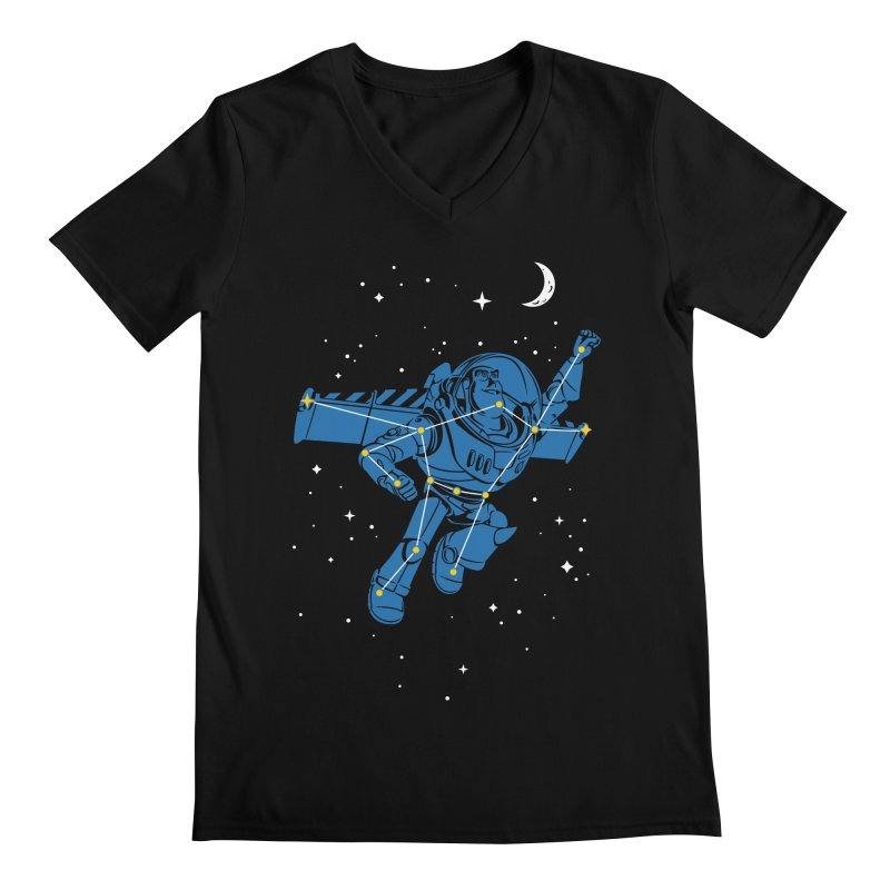 Universal Star Men's Regular V-Neck by CPdesign's Artist Shop