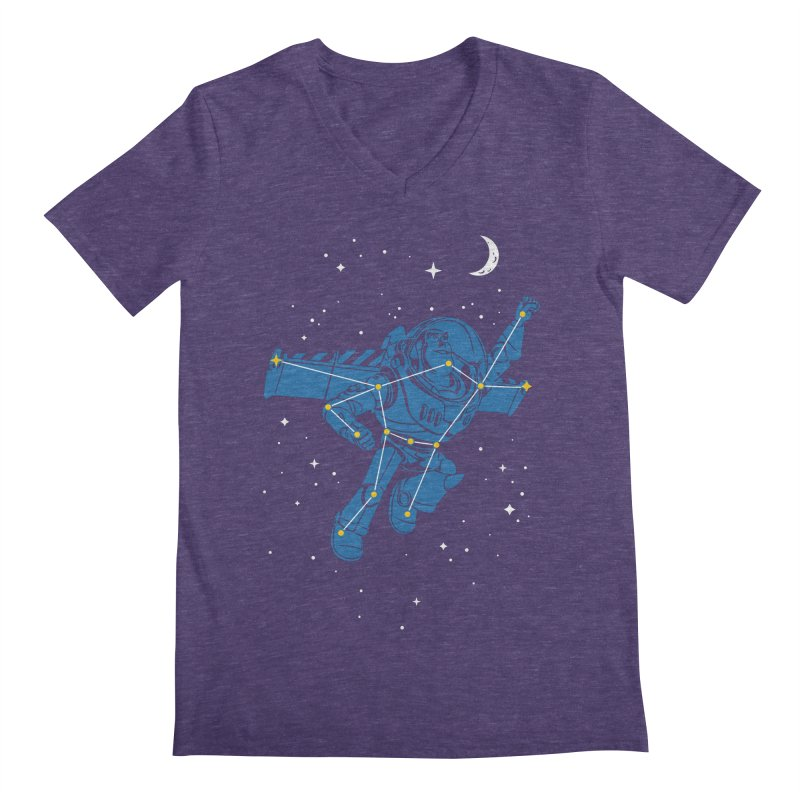 Universal Star Men's V-Neck by CPdesign's Artist Shop
