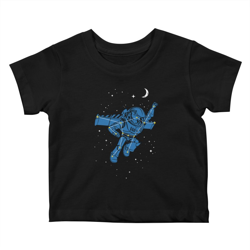 Universal Star Kids Baby T-Shirt by CPdesign's Artist Shop