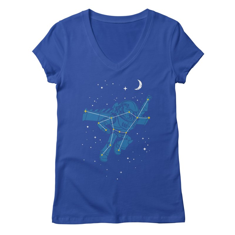 Universal Star Women's V-Neck by CPdesign's Artist Shop