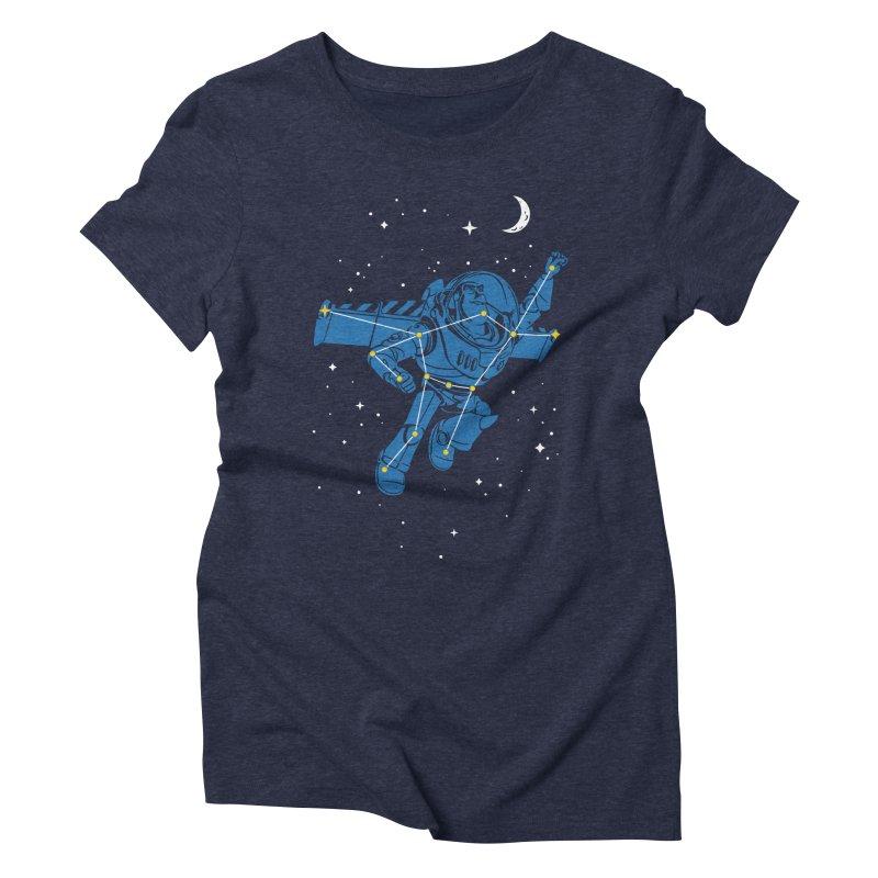 Universal Star Women's Triblend T-Shirt by CPdesign's Artist Shop