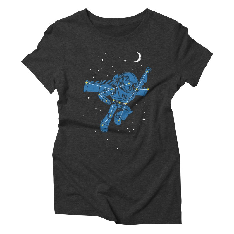 Universal Star Women's Triblend T-Shirt by CPdesign's Artist Shop