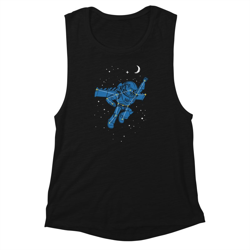 Universal Star Women's Muscle Tank by CPdesign's Artist Shop