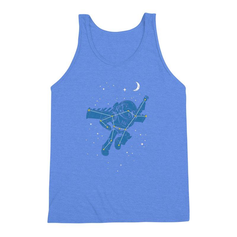 Universal Star Men's Triblend Tank by CPdesign's Artist Shop