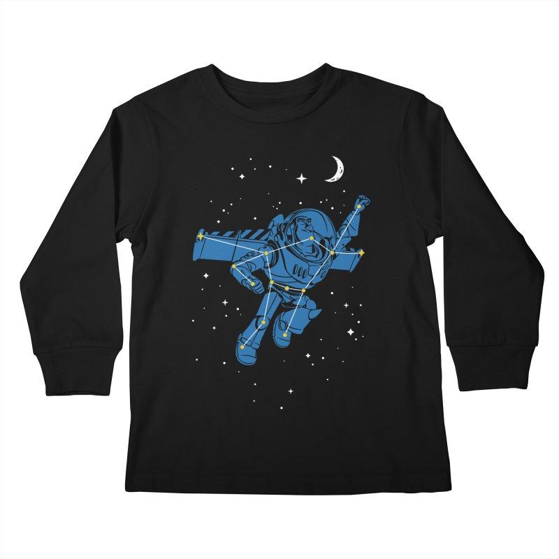 Universal Star Kids Longsleeve T-Shirt by CPdesign's Artist Shop