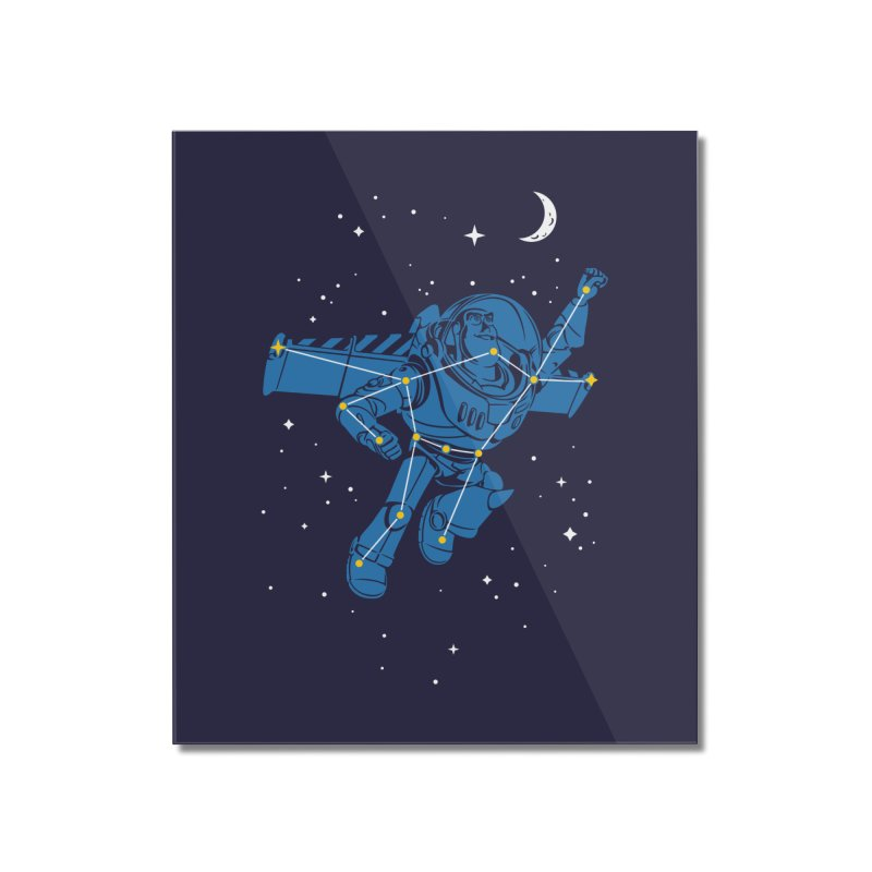 Universal Star Home Mounted Acrylic Print by CPdesign's Artist Shop