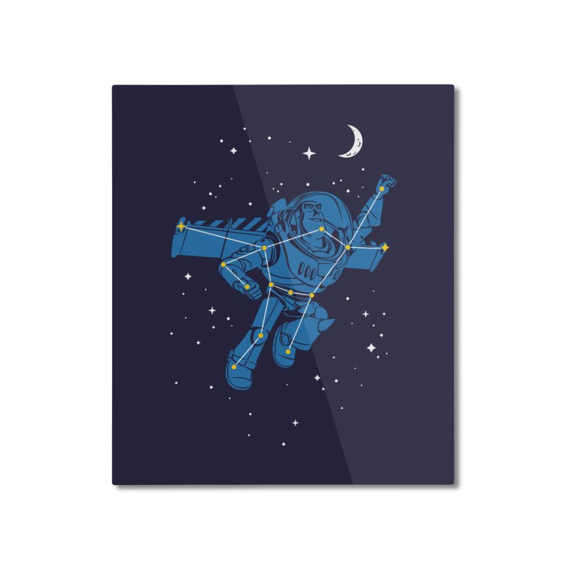 Universal Star Home Mounted Aluminum Print by CPdesign's Artist Shop